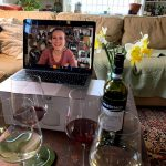 Wine and Facetime